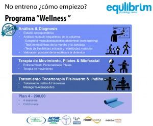 """Programa """"Wellness"""" - No entreno ¿cómo empiezo?"""