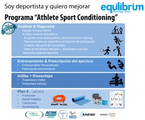 """Programa """" Athlete Sport Conditioning"""" - Soy deportista y quiero mejorar"""