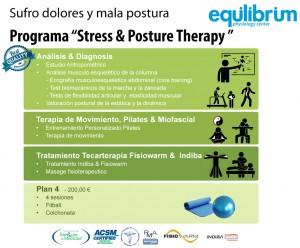 """Programa """" Stress & Posture Therapy """" - Sufro dolores y mala postura"""
