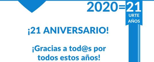 2020… ¡Y VAN 21 AÑOS!